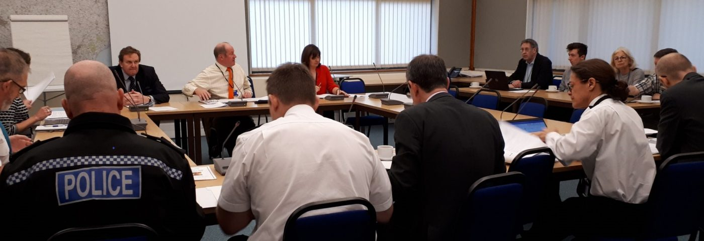 PCC and Chief Constable at the accountability meeting